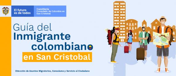 Guía del Inmigrante colombiano en San Cristóbal